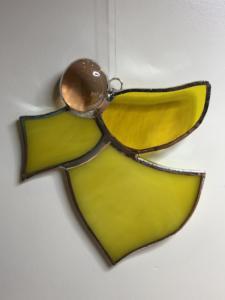Angel ornament yellow