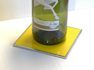 Bottle Coaster yellow