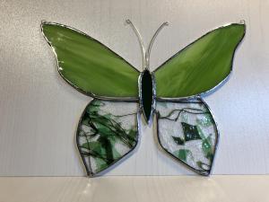 Butterfly green 1