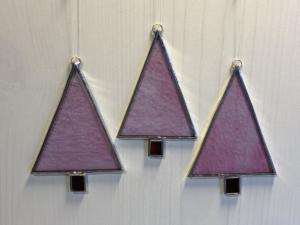 Tree ornaments pink